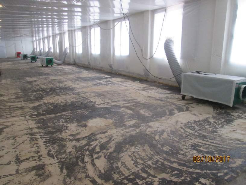 Bonifica pavimenti vinil amianto linoleum amianto esse a3